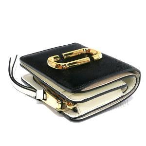 マークジェイコブス MARC JACOBS レディース 二つ折り財布 ミニウォレット ブラック×グレー×ホワイト M0014282 002 【2019年春夏新作】 [在庫品] brandol 04