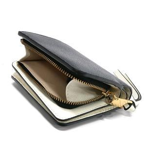 マークジェイコブス MARC JACOBS レディース 二つ折り財布 ミニウォレット ブラック×グレー×ホワイト M0014282 002 【2019年春夏新作】 [在庫品] brandol 06