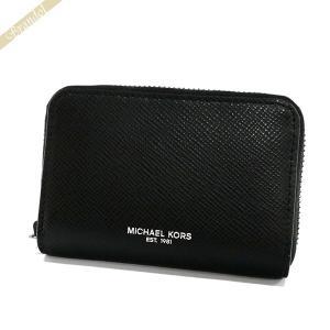 マイケルコース MICHAEL KORS メンズ 小銭入れ レザー コインケース ブラック 39S6LHRZ2L 001 BLACK [在庫品]|brandol
