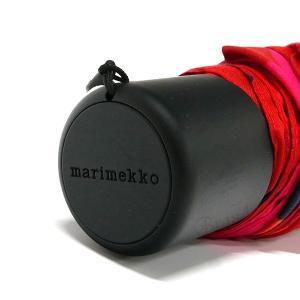 マリメッコ marimekko レディース 折りたたみ傘 ミニ ウニッコ Mini Unikko 花柄 54cm レッド×ピンク 038653 301 [在庫品]|brandol|07