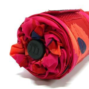 マリメッコ marimekko レディース 折りたたみ傘 ミニ ウニッコ Mini Unikko 花柄 54cm レッド×ピンク 038653 301 [在庫品]|brandol|08
