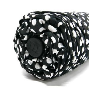 マリメッコ marimekko レディース 折りたたみ傘 ピルプト パルプト Pirput Parput 水玉柄 54cm ブラック×ホワイト 038655 910 [在庫品]|brandol|08