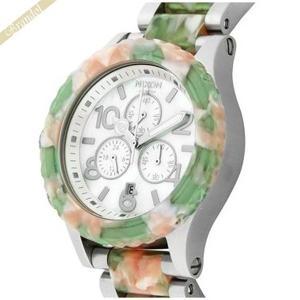 ニクソン NIXON メンズ腕時計 THE 42-20 CHORONO カモフラ クロノグラフ A037-1539 42mm グリーン系 A0371539|brandol
