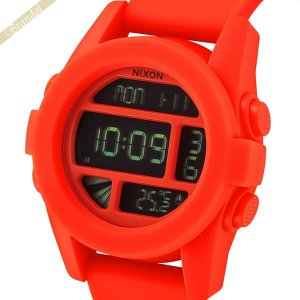 ニクソン NIXON メンズ腕時計 THE UNIT ユニット A197-1156 オレンジ A1971156|brandol