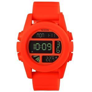 ニクソン NIXON メンズ腕時計 THE UNIT ユニット A197-1156 オレンジ A1971156|brandol|02