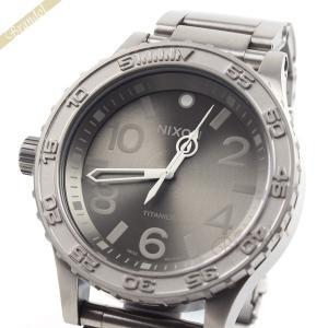 ニクソン NIXON メンズ腕時計 THE 51-30 TI チタニウム A351-703 51mm グレー A351703|brandol