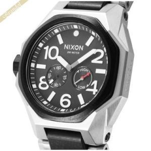 ニクソン NIXON メンズ腕時計 THE TANGENT タンジェント A397-000 47mm ブラック×シルバー A397000|brandol