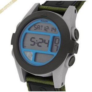ニクソン NIXON メンズ腕時計 THE BAJA A489-1376 デジタル 50mm ブラック×ブルー A4891376|brandol