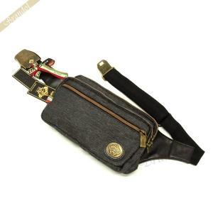 オロビアンコ Orobianco メンズ ボディバッグ 斜めがけ メッセンジャー デニム ブラック GIACOMINO TEK-C JEANS-BLACK [在庫品]|brandol