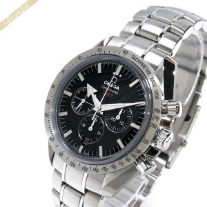 オメガ OMEGA メンズ腕時計 スピードマスター ブロード アロー1957 クロノグラフ 自動巻き 42mm ブラック×シルバー 321.10.42.50.01.001 [在庫品]|brandol