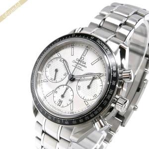 オメガ OMEGA メンズ腕時計 スピードマスター レーシング コーアクシャル クロノグラフ 自動巻き 40mm シルバー 326.30.40.50.02.001 [在庫品]|brandol