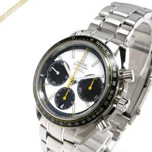オメガ OMEGA メンズ腕時計 スピードマスター レーシング コーアクシャル クロノグラフ 自動巻き 40mm ブラック×シルバー 326.30.40.50.04.001 [在庫品]|brandol