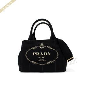 プラダ PRADA レディース トートバッグ カナパ CANAPA Sサイズ 2wayショルダー キャンバス ミニトート ブラック 1BG439 ZKI F0002 / NERO [在庫品]|brandol