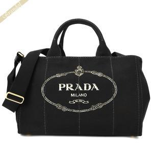 プラダ PRADA レディース トートバッグ カナパ CANAPA Mサイズ 2wayショルダー キャンバストート ブラック 1BG642 ZKI F0002 / NERO [在庫品]|brandol