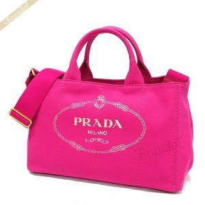プラダ PRADA レディース トートバッグ カナパ CANAPA Mサイズ 2wayショルダー キャンバストート ピンク 1BG642 ZKI F0029 / FUXIA [在庫品]|brandol