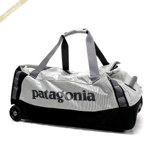 パタゴニア Patagonia メンズ・レディース ボストンバッグ キャスター付 ダッフルバッグ グレー×ブラック 49375 725 [在庫品]|brandol