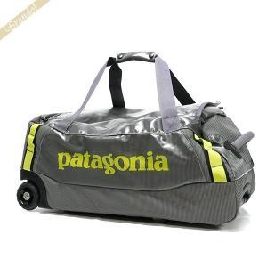 パタゴニア Patagonia メンズ・レディース ボストンバッグ キャスター付 ダッフルバッグ グレー×イエロー 49375 950 [在庫品]|brandol