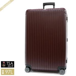 リモワ RIMOWA メンズ・レディース スーツケース SALSA サルサ TSAロック 縦型 97L カルモナレッド 810.77.14.4 CARMONA RED MATTE [在庫品]|brandol
