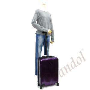 リモワ RIMOWA スーツケース SALSA AIR サルサ エアー TSAロック対応 縦型 34L パープル 820.52.22.4 VIOLET [在庫品]|brandol|08