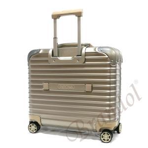 リモワ RIMOWA スーツケース TITANIUM BUSINESS チタニウム ビジネス TSAロック対応 横型 26L ゴールド 923.40.03.4 GOLD [在庫品]|brandol|02