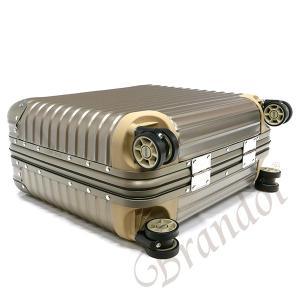 リモワ RIMOWA スーツケース TITANIUM BUSINESS チタニウム ビジネス TSAロック対応 横型 26L ゴールド 923.40.03.4 GOLD [在庫品]|brandol|03