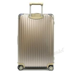 リモワ RIMOWA メンズ・レディース スーツケース TOPAS TITANIUM トパーズ チタニウム TSAロック E-Tag 縦型 78L シャンパンゴールド 924.70.03.5 [在庫品]|brandol|02