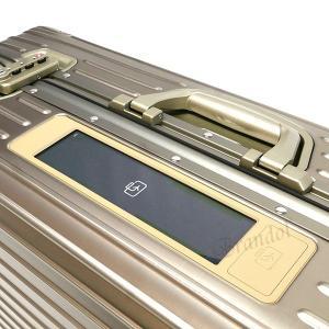 リモワ RIMOWA メンズ・レディース スーツケース TOPAS TITANIUM トパーズ チタニウム TSAロック E-Tag 縦型 78L シャンパンゴールド 924.70.03.5 [在庫品]|brandol|05