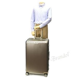 リモワ RIMOWA メンズ・レディース スーツケース TOPAS TITANIUM トパーズ チタニウム TSAロック E-Tag 縦型 78L シャンパンゴールド 924.70.03.5 [在庫品]|brandol|08