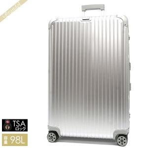 リモワ RIMOWA メンズ・レディース スーツケース TOPAS トパーズ TSAロック 縦型 98L シルバー 924.77.00.4 SILVER [在庫品] brandol