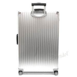 リモワ RIMOWA メンズ・レディース スーツケース CLASSIC FLIGHT クラシックフライト TSAロック 縦型 97L シルバー 971.77.00.4 SILVER [在庫品]|brandol|02