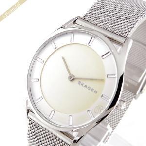 スカーゲン SKAGEN メンズ・レディース 腕時計 Holst ホルスト 34mm ライトイエロー×シルバー SKW2342 [在庫品] brandol