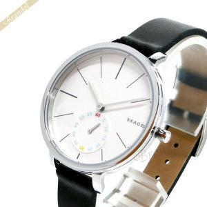 スカーゲン SKAGEN レディース腕時計 Hagen ハーゲン 34mm ホワイト×ブラック SKW2435 [在庫品]|brandol