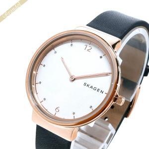 スカーゲン SKAGEN レディース腕時計 Ancher アンカー 34mm ホワイト×ブラック SKW2608 [在庫品]|brandol