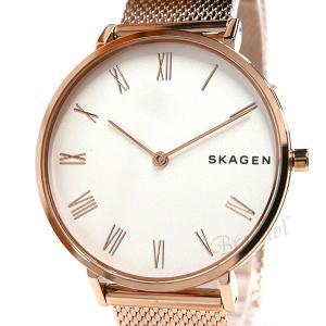 スカーゲン SKAGEN レディース腕時計 HALD ハルド メッシュベルト 34mm ホワイト×ローズゴールド SKW2714 [在庫品]|brandol|03