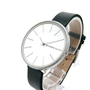 スカーゲン SKAGEN レディース腕時計 KAROLINA カロリーナ 38mm ホワイト×ダークグリーン SKW2724 【2018年秋冬新作】 [在庫品]|brandol|02