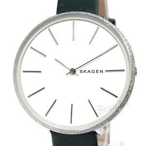 スカーゲン SKAGEN レディース腕時計 KAROLINA カロリーナ 38mm ホワイト×ダークグリーン SKW2724 【2018年秋冬新作】 [在庫品]|brandol|03