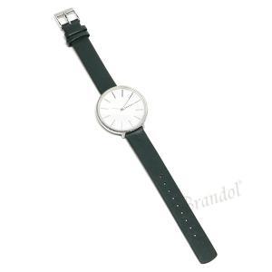 スカーゲン SKAGEN レディース腕時計 KAROLINA カロリーナ 38mm ホワイト×ダークグリーン SKW2724 【2018年秋冬新作】 [在庫品]|brandol|05