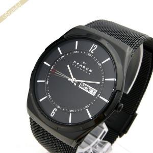 スカーゲン SKAGEN メンズ腕時計 Aktiv チタニウム 40mm ブラック SKW6006 [在庫品] brandol