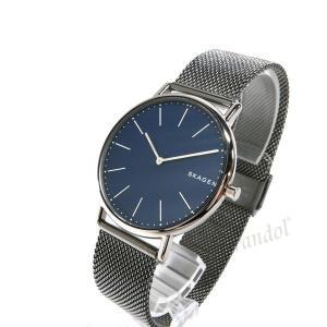 スカーゲン SKAGEN メンズ腕時計 SIGNATUR シグネチャー チタニウム 40mm ネイビー×ガンメタル SKW6420 [在庫品]|brandol|02