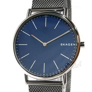 スカーゲン SKAGEN メンズ腕時計 SIGNATUR シグネチャー チタニウム 40mm ネイビー×ガンメタル SKW6420 [在庫品]|brandol|03