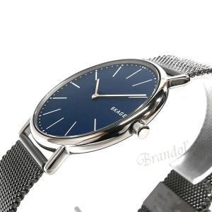 スカーゲン SKAGEN メンズ腕時計 SIGNATUR シグネチャー チタニウム 40mm ネイビー×ガンメタル SKW6420 [在庫品]|brandol|04