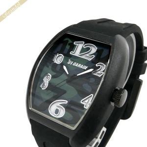 ゾンネ ハオリ SONNE×HAORI メンズ腕時計 岩城滉一 コラボモデル トノー型 迷彩柄 ブラック×カモフラージュ H020BK CM|brandol