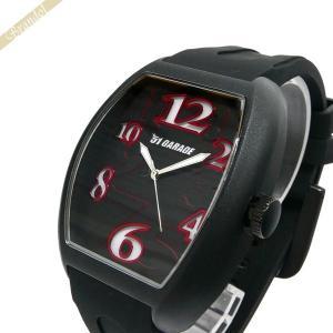 ゾンネ ハオリ SONNE×HAORI メンズ腕時計 岩城滉一 コラボモデル トノー型 ブラック×レッド H020BK RD|brandol
