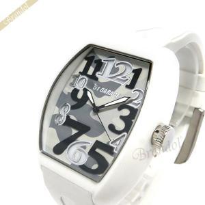 ゾンネ ハオリ SONNE×HAORI メンズ腕時計 岩城滉一 コラボモデル トノー型 迷彩柄 ホワイト×カモフラージュ H020WH CM|brandol