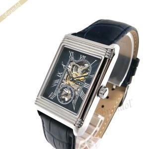 ゾンネ ハオリ SONNE×HAORI メンズ腕時計 岩城滉一 コラボモデル レクタングル 手巻き ネイビー×シルバー H021SS-NV|brandol