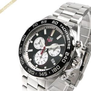 タグホイヤー TAG Heuer メンズ腕時計 フォーミュラ1 クロノグラフ 43mm ブラック×シルバー CAZ101E.BA0842 [在庫品] brandol