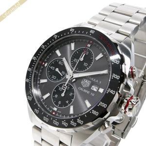 タグホイヤー TAG Heuer メンズ 腕時計 フォーミュラ1 キャリバー16 クロノグラフ 44mm 自動巻き グレー×シルバー CAZ2012.BA0876 [在庫品]|brandol