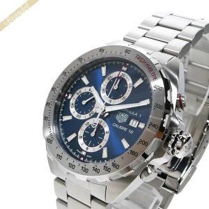 タグホイヤー TAG Heuer メンズ 腕時計 フォーミュラ1 F1 キャリバー16 クロノグラフ 44mm 自動巻き ブルー×シルバー CAZ2015.BA0876 [在庫品]|brandol