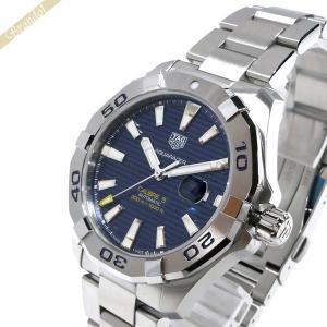 タグホイヤー TAG Heuer メンズ 腕時計 アクアレーサー キャリバー5 43mm 自動巻き ブルー×シルバー WAY2012.BA0927 [在庫品]|brandol