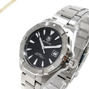 タグホイヤー TAG Heuer メンズ 腕時計 アクサレーサー キャリバー5 40.5mm 自動巻き ブラック×シルバー WAY2110.BA0928 [在庫品]|brandol